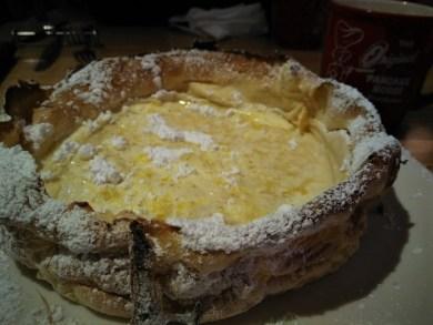 オリジナルパンケーキハウスのダッチベイビー