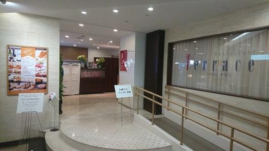7階 テラス 入口