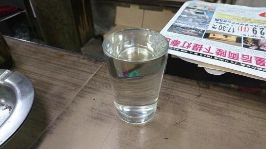冷の日本酒にシフト