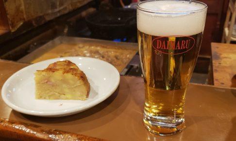 黒崎でビール とジャーマンポテトを頬張る 【 ダイマル 】