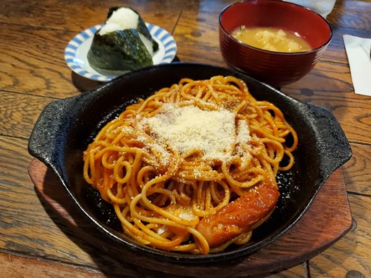 スパゲティセット 650円