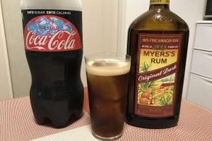 ラムコーク Rum and coke