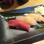 名古屋 立ち飲みでお寿司 ♪