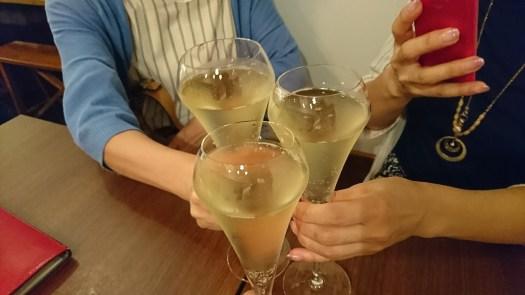 泡で乾杯♪ ヴァン フロマージュ ザキ (Vin・Fromage ZAKI)