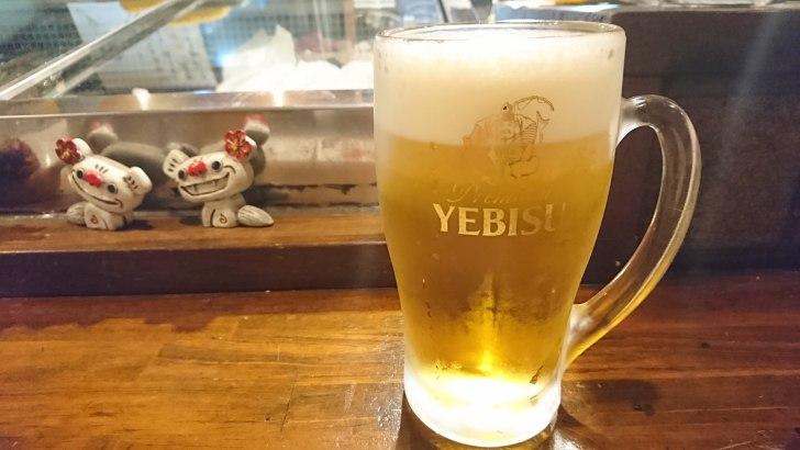 まずは ビール!