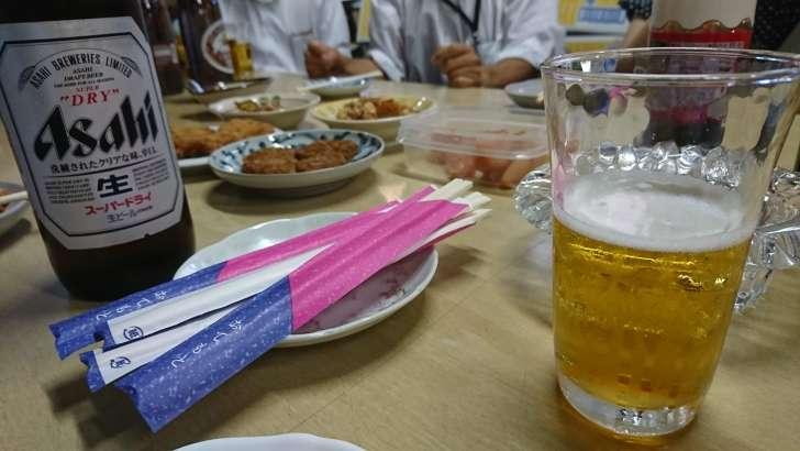ビール と おつまみ