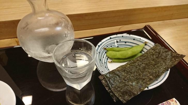 あて と 日本酒