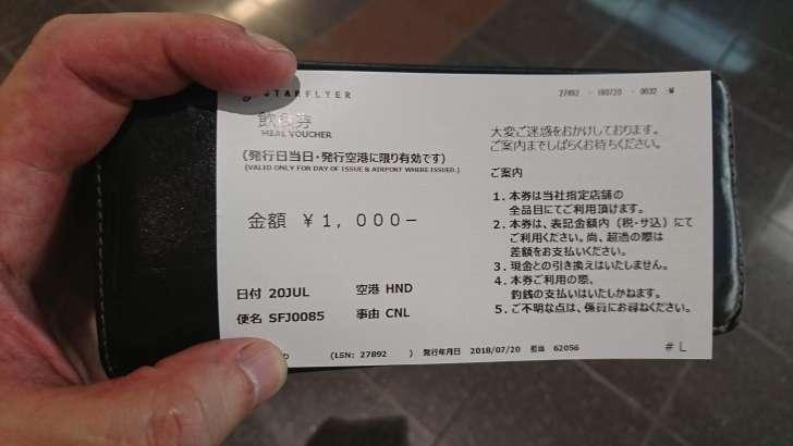 当日限りの 1000円 の金券!