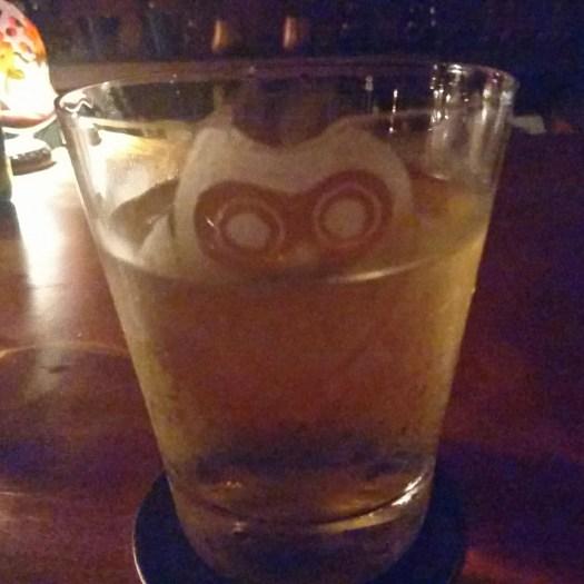 フクロウの ロックグラス
