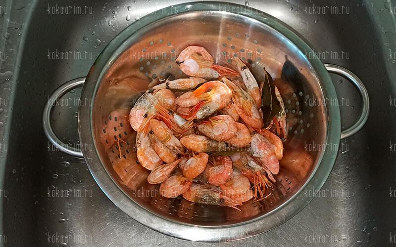Фото7 Как варить креветки