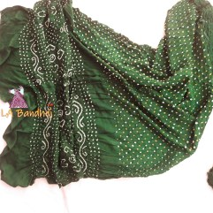 Green Gaji Silk Saree