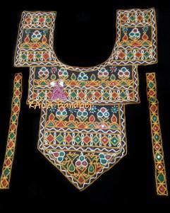 Kutchi Work Necks Large Style #4
