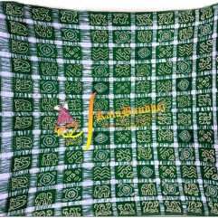 Green Real-Jari Gharchola saree