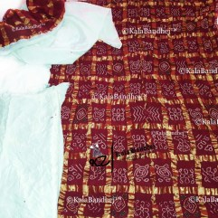 Red Gharchola DressMaterial