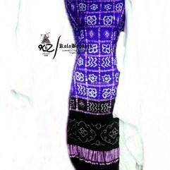 Jambli-Black GajiSilk Gharchola DressMaterial