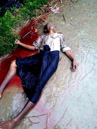 Joint force killed Rohingya in Myothugyi