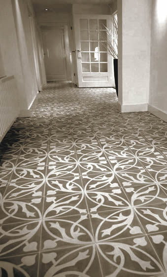 Encaustic Sydney Tiles Patterned Atrisan Kalafrana Ceramics