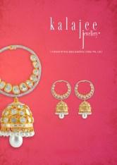Diamond Polki earrings