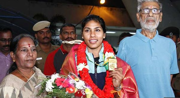 Commonwealth Fencing Champion Bhavani Devi