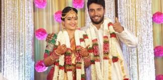Actress Suja Varunee and Shiva Kumar Wedding Photos