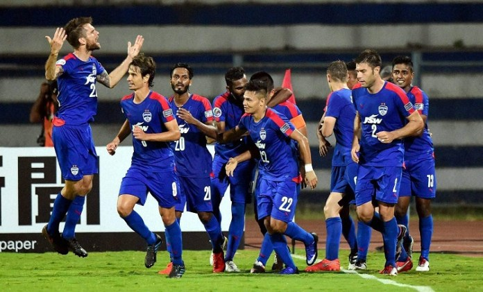 ISL Football Bangalore team win