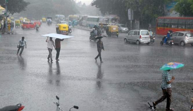Heavy Rain in Tamil Nadu