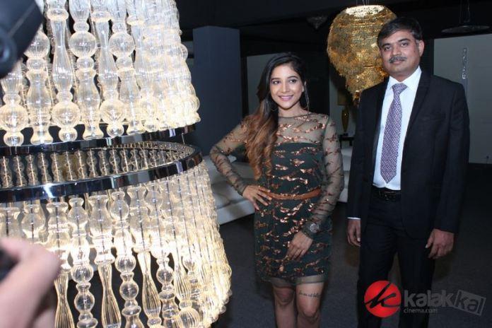 Actress Sakshi Agarwal launched Supreme Living Furniture Showroom Novak Photos