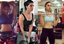 Actress Hot Gym Workout