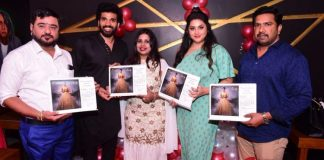 Actress Namitha launches Yearly Calendar Lonely Photos