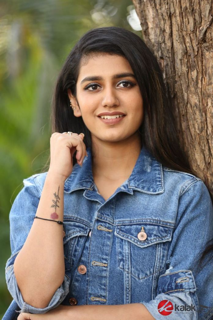 Actress Priya Prakash Varrier Photos