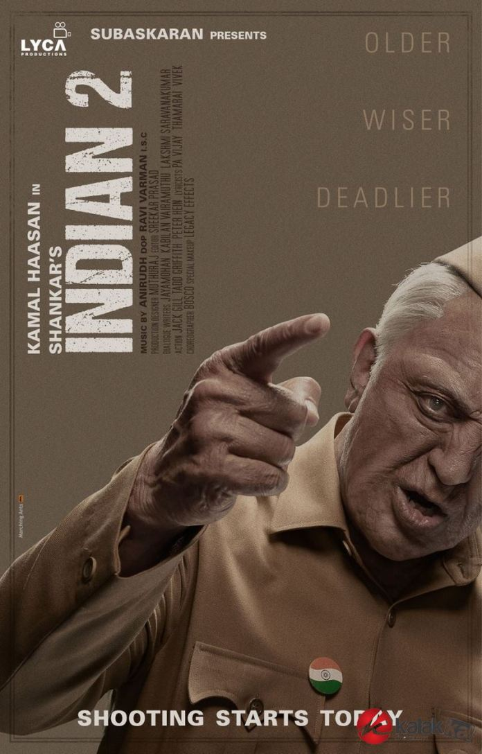 Indian 2 Movie Posters