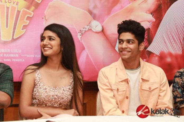 Oru Adaar Love Movie Press Meet Stills