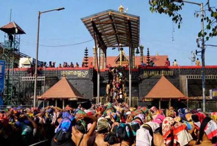 Women stopped Sabarimala Temple