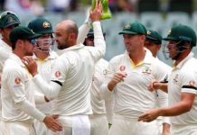 2nd Test Australia Win