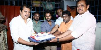 Director Ezhil and GV Prakash New Movie Pooja Stills