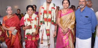 Director Manobala Son Harish - Priya Marriage Photos