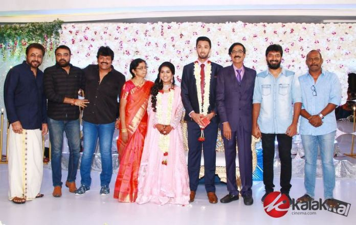 Director Manobala Son Harish weds Priya WedDirector Manobala Son Harish weds Priya Wedding Reception Photosding Reception Photos