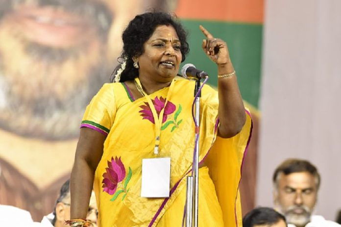 BJP Tamilisai Speech