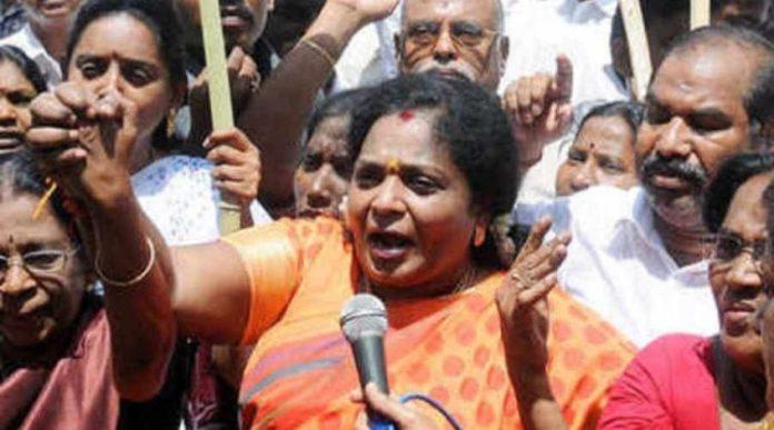 Tamilisai slams