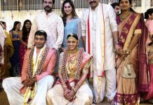 Ram Charan & Upasana at Venkatesh Daughter Aashritha Wedding Photos