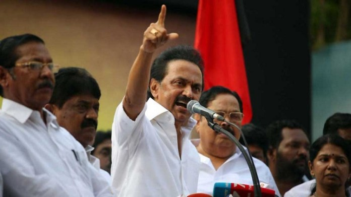 DMK President MK.Stalin :