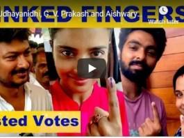 Celebrities Cast Vote