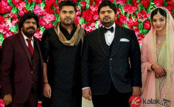 TR Kuralarasan Wedding Reception Stills