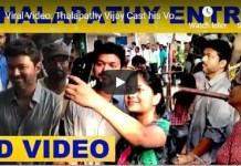 Vijay Cast Vote Video