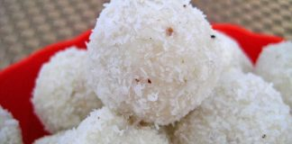 Panneer Coconut Laddu