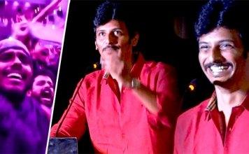 Gypsy Audio Launch : Raju Murugan | Santhosh Narayanan | Natasha | Jiiva Trolls his Fans on Stage | Kollywood | Tamil Cinema