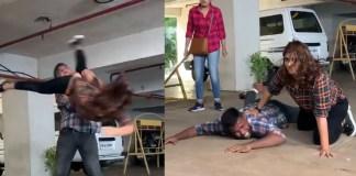 Varalaxmi Sarathkumar Video