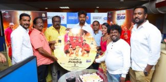 Vennila Kabaddi Kuzhu 2 Movie Audio Launch held at Hyderabad. Vikranth, Arthana Binu, Selva Sekaran, V. Selvaganesh, E. Krishnasamy at the event.