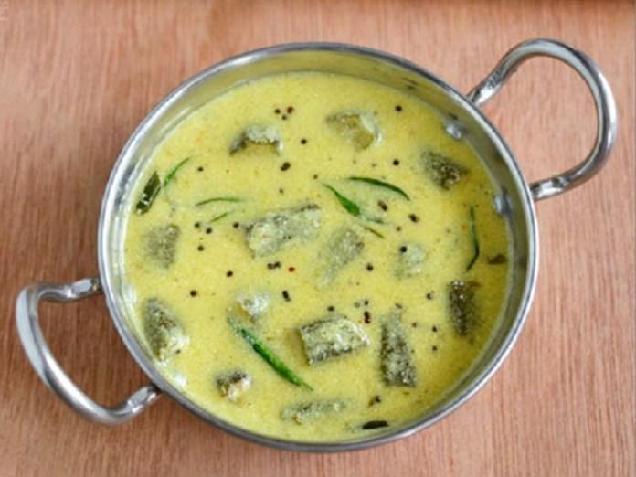 Vendakkai Mor Kulambu : South Indian Recipe, Easy Rice Recipe, Veg Recipes of India, Quick And Easy Recipes, Dinner Ideas, Easy Recipe