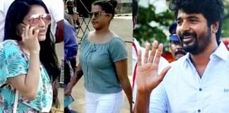 Sivakarthikeyan and Varalakshi Entry : Nadigar Sangam Election 2019, K Bhagyaraj, Nassar, Vishal, Pandavar ani, Kushboo, Karthi, Ishari K. Ganesh